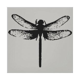Libelle Leinwanddruck