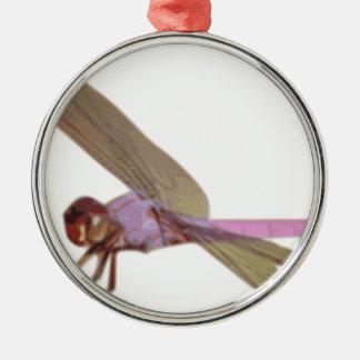 Libelle Silbernes Ornament