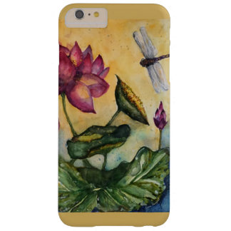 Libellen-Blumenkunst iPhone Fall Barely There iPhone 6 Plus Hülle