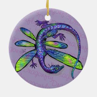 Libellen-Drache Keramik Ornament
