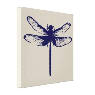 Libellen-Druck Leinwanddruck