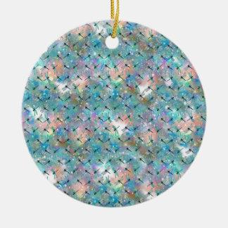 Libellen-Galaxie Rundes Keramik Ornament