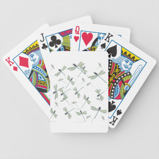 Libellen in der Sonne Bicycle Spielkarten