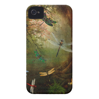 Libellen-Spielplatz iPhone 4 Cover