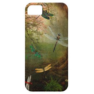 Libellen-Spielplatz iPhone 5 Schutzhülle