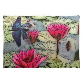 Libellen-Teich Tischset
