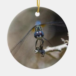 Libellen-Verzierung Keramik Ornament