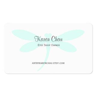 Libellen-Visitenkarte-Schablone Visitenkarten