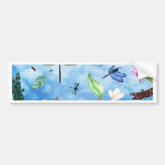 Libellenkunst-Nola kelsey Autoaufkleber