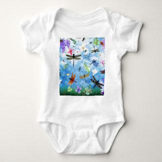 Libellenkunst-Nola kelsey Baby Strampler