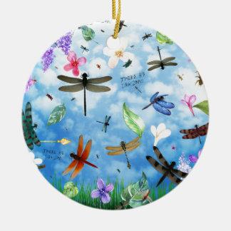 Libellenkunst-Nola kelsey Keramik Ornament