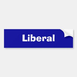 Liberal Autoaufkleber