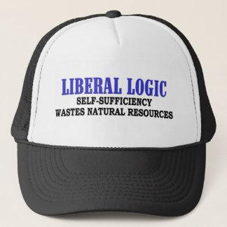 Liberale Logik Truckerkappe