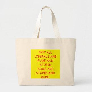 Liberale Einkaufstaschen