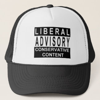 Liberaler Beratungshut Truckerkappe
