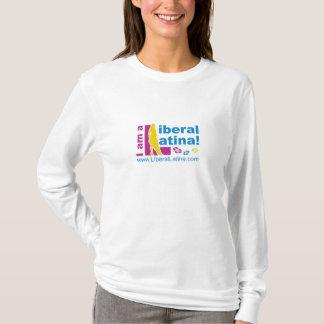 Liberales Latina plus Größe T-Shirt