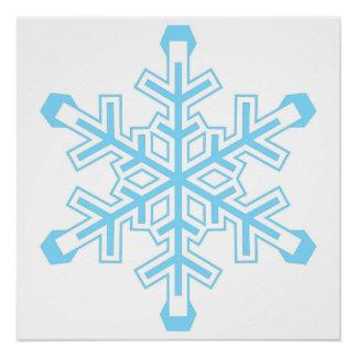 Liberales Schneeflocke-Protest-Zeichen oder Plakat Poster