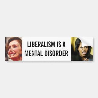 Liberalismus Autoaufkleber