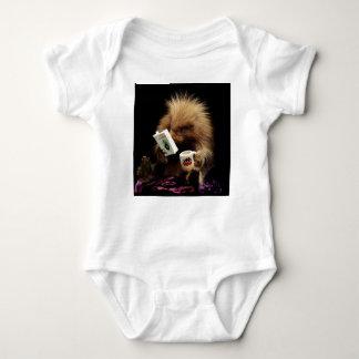 Liberalistisches Stachelschwein-Maskottchen-zivile Baby Strampler