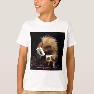 Liberalistisches Stachelschwein-Maskottchen-zivile T-Shirt