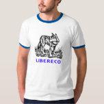 Libereco (Freedom, Freiheit) - Lupo en naturo Tshirt