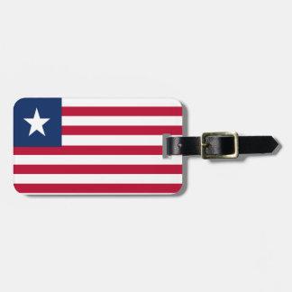 Liberia-Flagge Gepäckanhänger