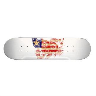 Liberia-Flagge Skateboard Brett