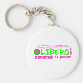Libero-Merkmale Schlüsselanhänger