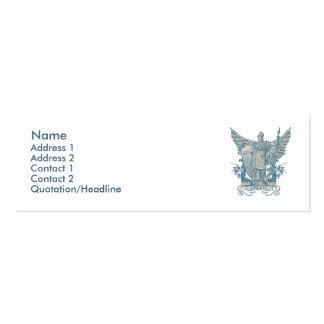 Libertas Blau-Visitenkarte