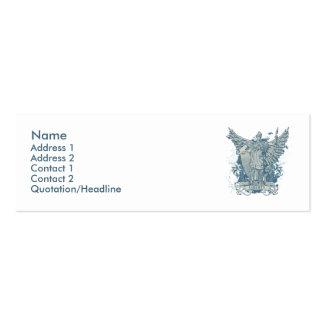 Libertas Blau-Visitenkarte Jumbo-Visitenkarten