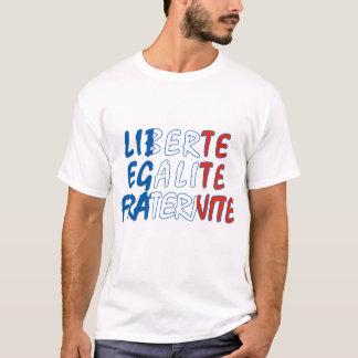 Liberte Egalite Fraternite Produkte T-Shirt