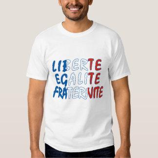 Liberte Egalite Fraternite Produkte T Shirts