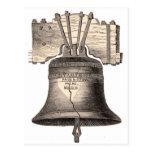 Liberty Bell Postkarte