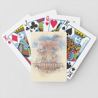 Liberty Bell und Unabhängigkeit Hall Bicycle Spielkarten