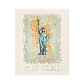 Liberty, New York, Manhattan, USA, Amerika Leinwanddruck