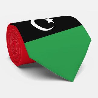 Libyen-Flagge Krawatte