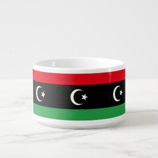 Libyen-Flagge Schüssel