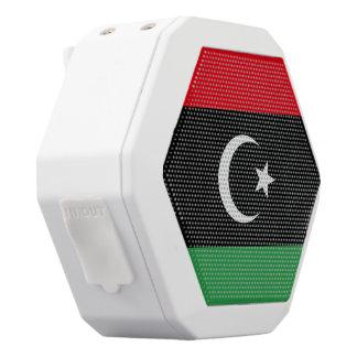 Libyen-Flagge Weiße Bluetooth Lautsprecher