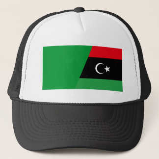 Libyen kombinierte truckerkappe