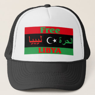 Libyen-Shirt - ليبياالحرة Truckerkappe