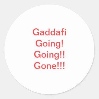 Libyscher Anti-Gaddafi Aufkleber