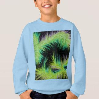Licht als Feder-Entwurf Sweatshirt