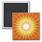 Licht Blick Quadratischer Magnet
