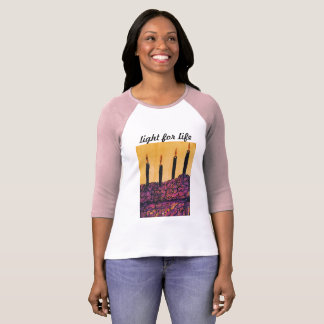 Licht für Lebent-shirts T-Shirt