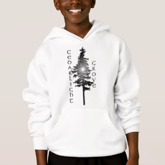 Licht im Zedern-Baum Hoodie