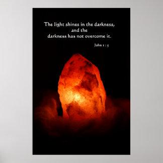 Licht in der Dunkelheit Poster