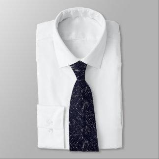 Licht in der Sturm-Designer-Krawatte (blaues Krawatte