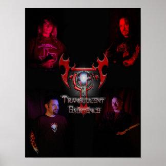 Lichtdurchlässiges Band-Mitgliedsplakat Poster