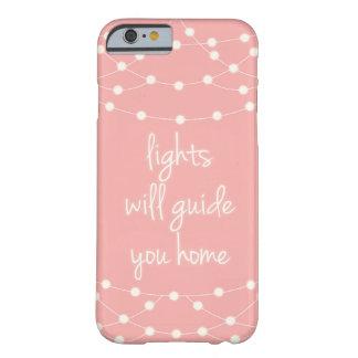 Lichter führen Sie Zuhause Barely There iPhone 6 Hülle