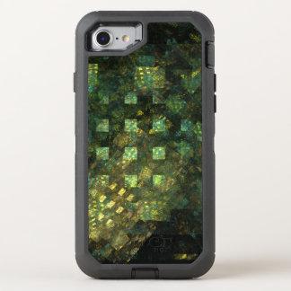 Lichter in der Stadt-abstrakten Kunst OtterBox Defender iPhone 8/7 Hülle
